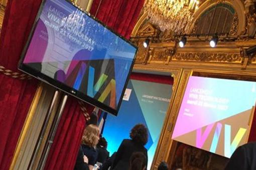 Air France partenaire du Salon Viva Technology 2017
