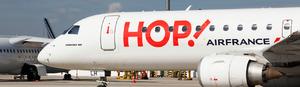 Les destinations estivales de HOP! Air France
