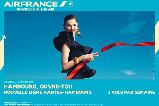 Au départ de Nantes envolez-vous vers Hambourg à compter du 29 octobre 2017