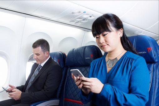Delta Air Lines propose un nouveau service de messagerie gratuit en vol