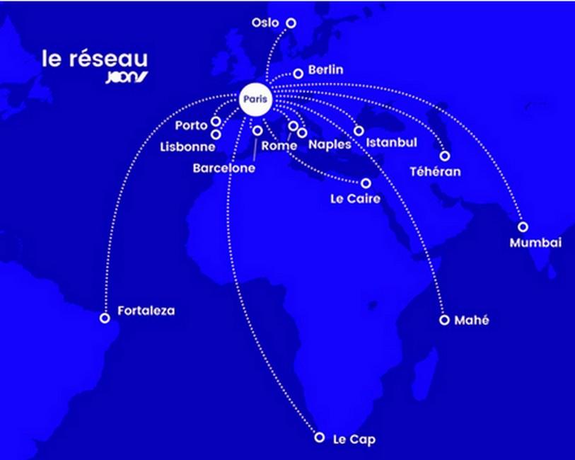 Choisissez votre destination Long-Courrier avec Joon…