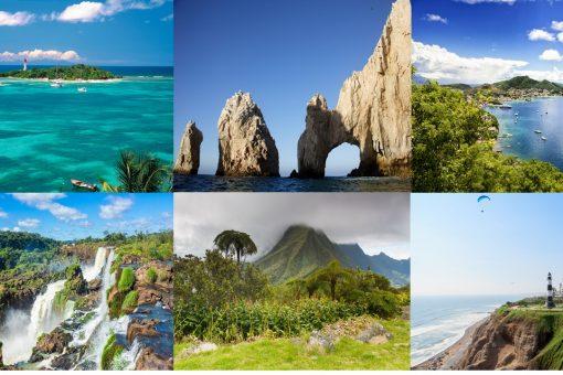 Offre tarifaire de/vers l'Amérique Centrale, l'Amérique du Sud, les Caraïbes et la Réunion