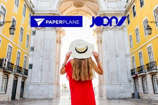 Joon lance Paperplane, la cagnotte pour offrir des voyages