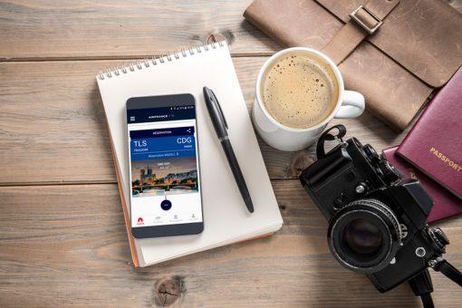 Nouvelles fonctionnalités dans l'application mobile d'Air France afin de vous faciliter les différentes étapes de votre voyage