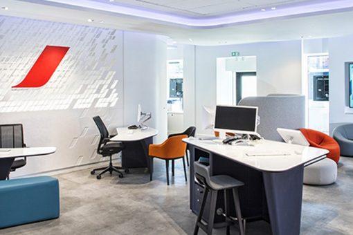 Le nouveau concept d'agence Air France s'installe à Bordeaux et Toulouse