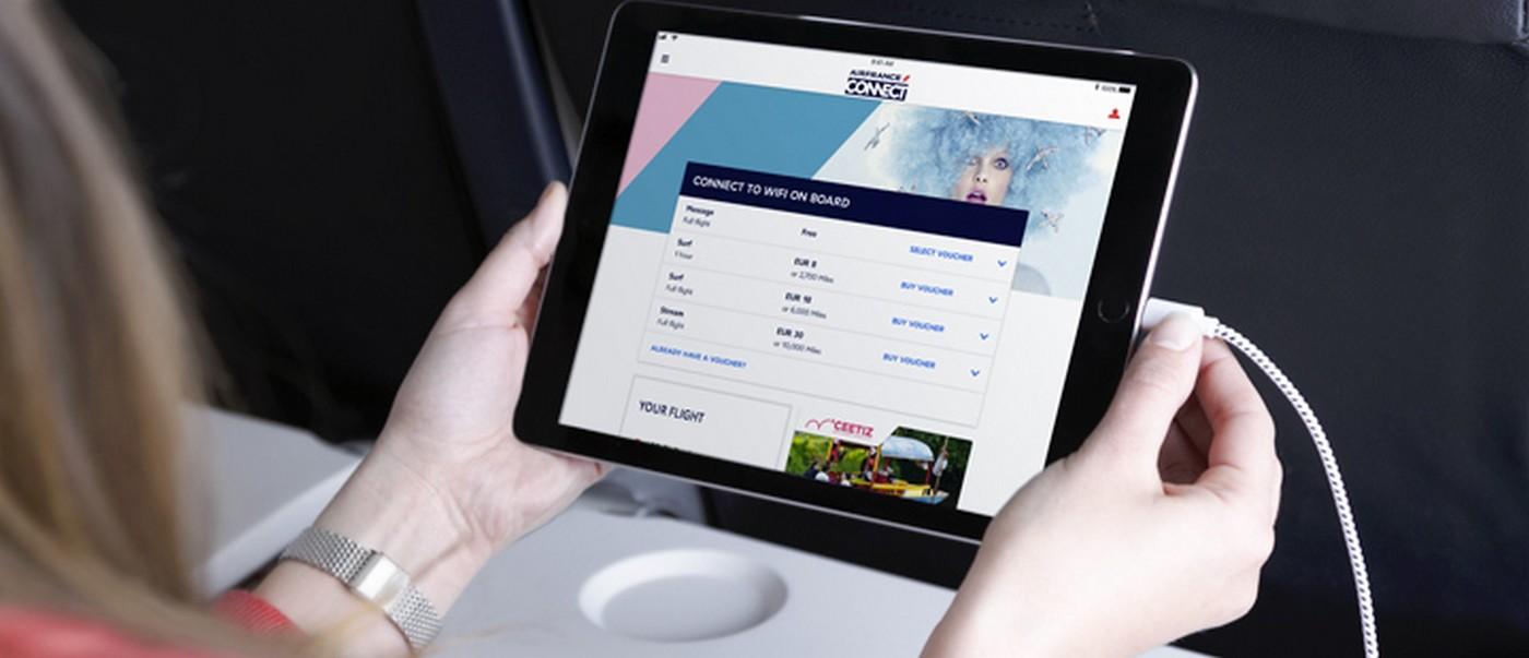 Restez connecté(e) avec Air France tout au long de votre voyage