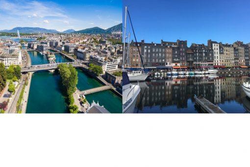 Au départ de Caen vers Genève : nouvelle destination Hop! Air France