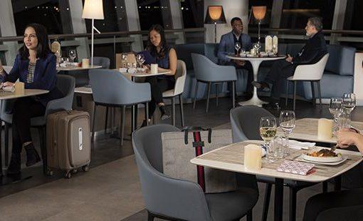 New York – JFK : un nouvel espace de restauration au salon Business d'Air France
