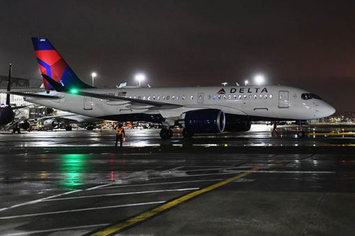 Delta : 1er vol commercial en Airbus 220