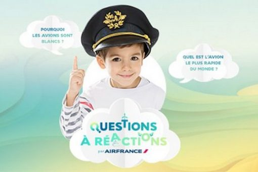 Pour l'opération «Questions à Réactions» Air France reçoit 2 prix !