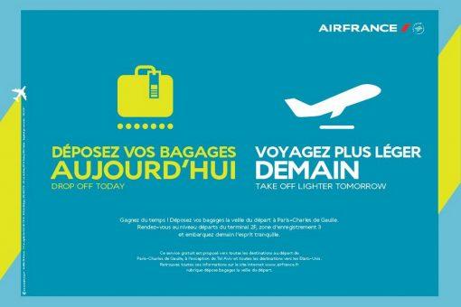 Déposez vos bagages la veille de votre départ … partez léger