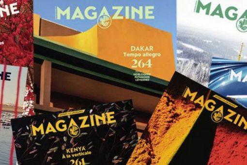 Retrouver vos magazines Air France en ligne !