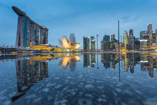 Au départ de Singapour des mets d'exception par le chef Julien Royer