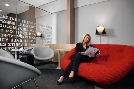Lyon-Saint-Exupéry : un nouveau salon Air France vous accueille