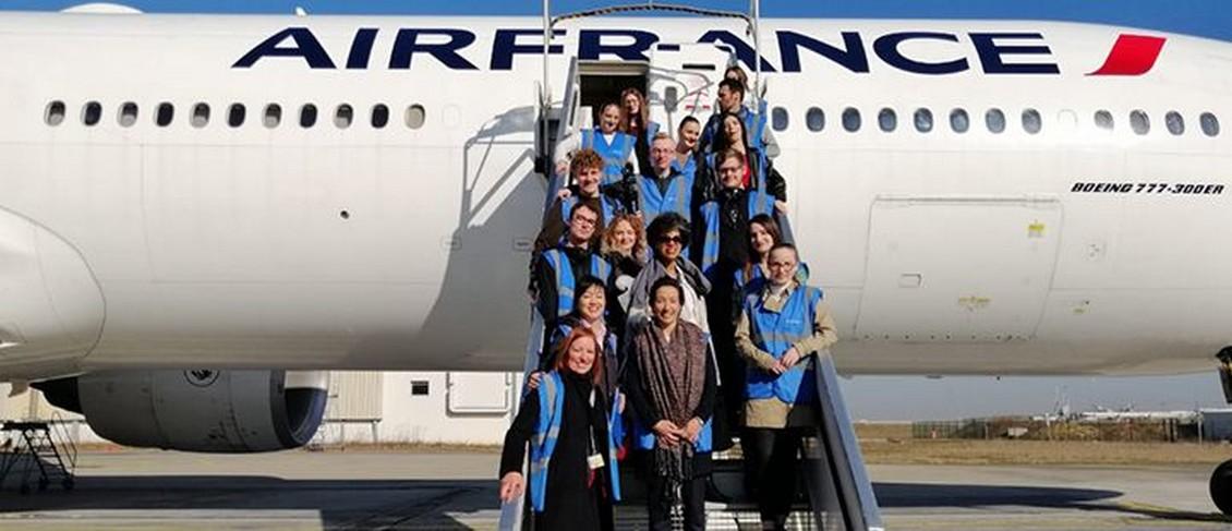 Air France choisie pour le projet « Je filme le métier qui me plaît »