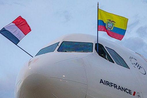 Inauguration du vol Paris – Quito
