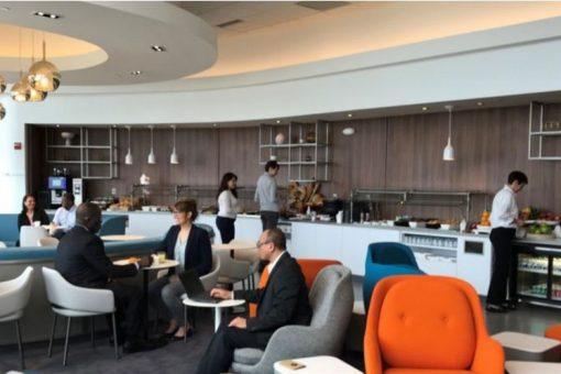Le salon Business d'Air France à l'aéroport de Washington a fait peau neuve !