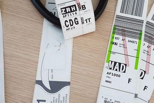 Technologie RFID développée par Air France en coopération avec Aéroport de Paris