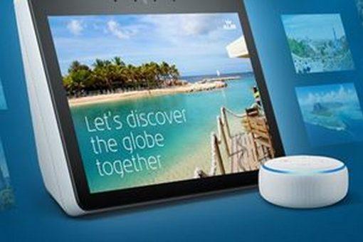KLM offre l'inspiration avec le guide de voyage sur Amazon Alexa