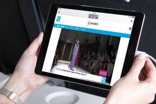 Air France lance la télévision en direct en partenariat avec France 24