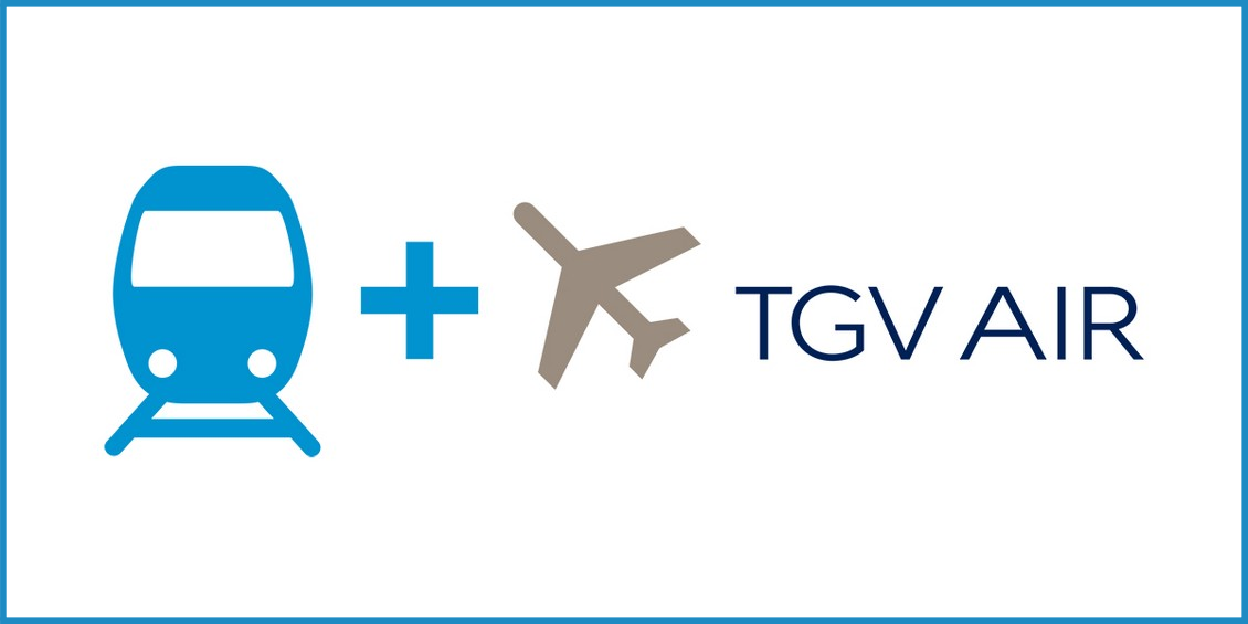TGV AIR entre Strasbourg gare et Paris CDG