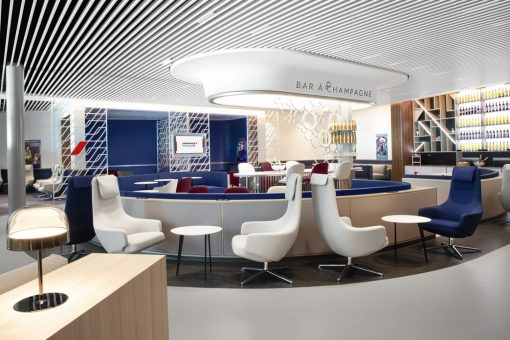 Air France inaugure son nouveau salon à Orly 3