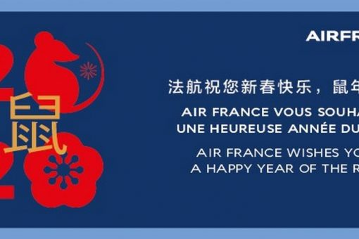 Air France fête le nouvel an chinois