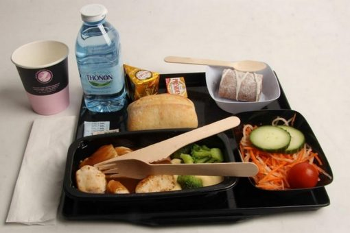 Air France réduit considérablement le plastique à usage unique à bord