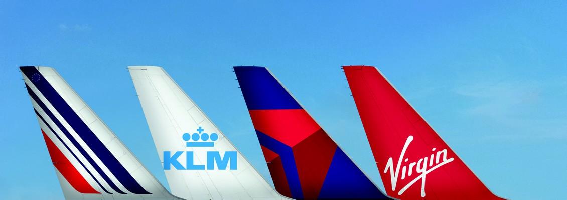 Un partenariat d'envergure entre Air France, KLM, Delta et Virgin Atlantic