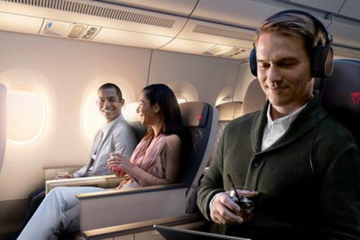 les cabines Delta Premium Select s'envolent en mars 2020