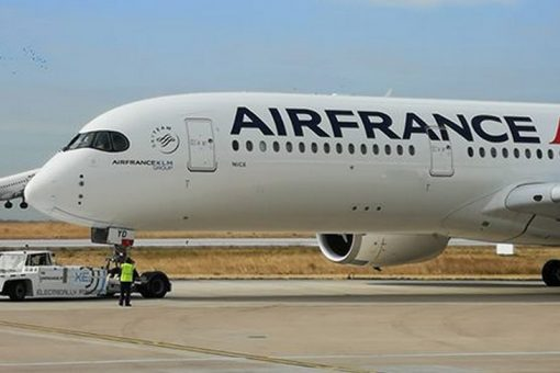 Air France poursuit l'électrification de ses engins de piste