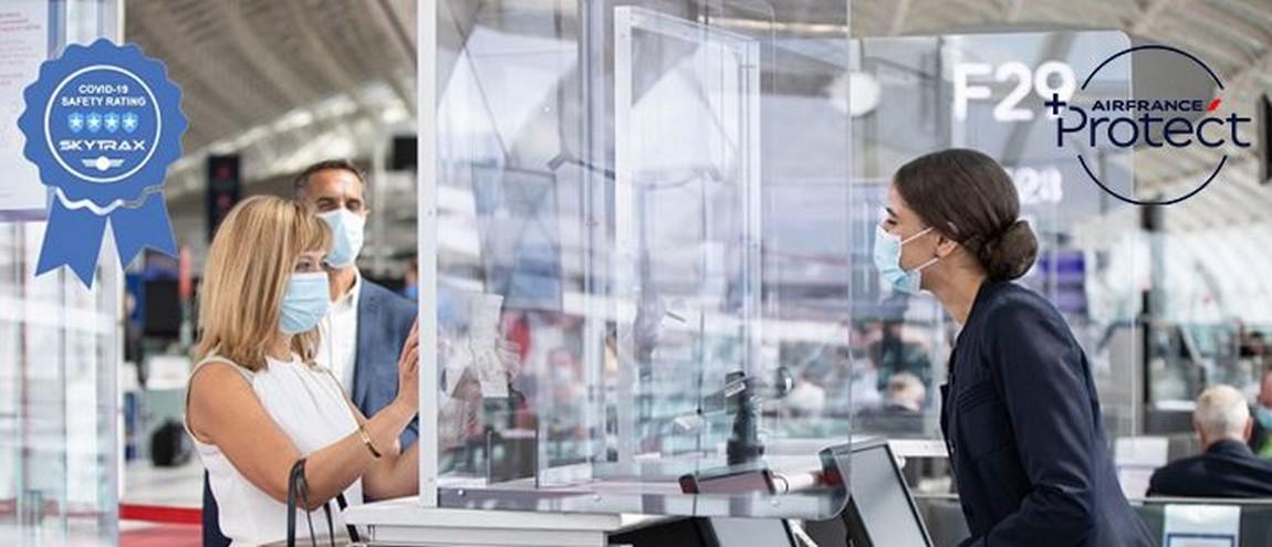 Air France obtient 4 étoiles au «Covid-19 Safety Rating» de Skytrax