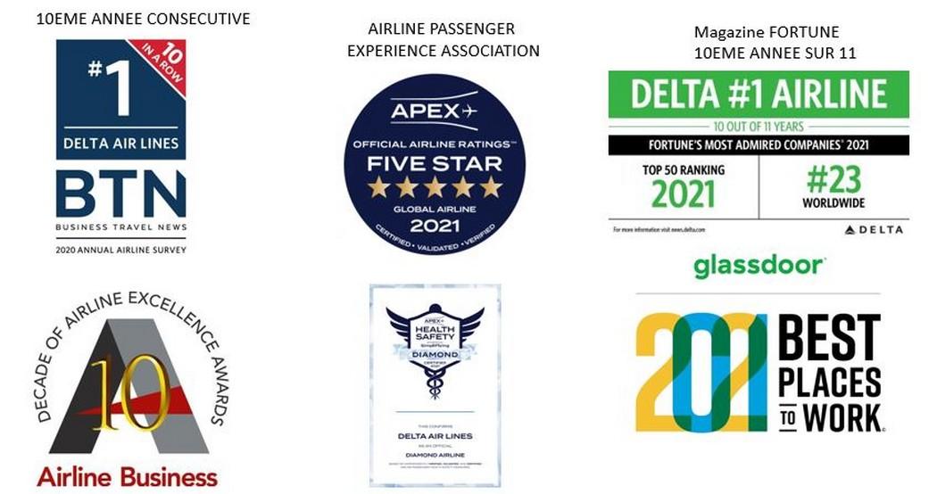 Delta récompensée pour ses réponses exemplaires à la pandémie