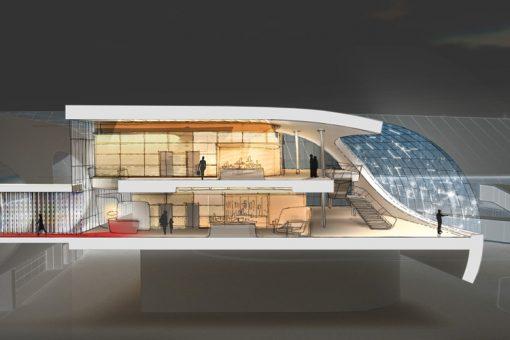 Nouveau salon du terminal 2F de Paris