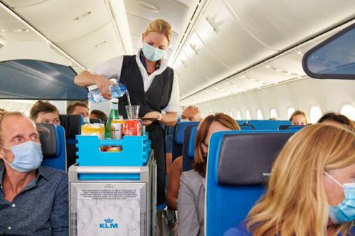 Air France et KLM s'attaquent aux déchets à bord