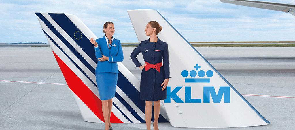 Pages d'informations sur les voyages en temps de COVID-19 avec Air France et KLM