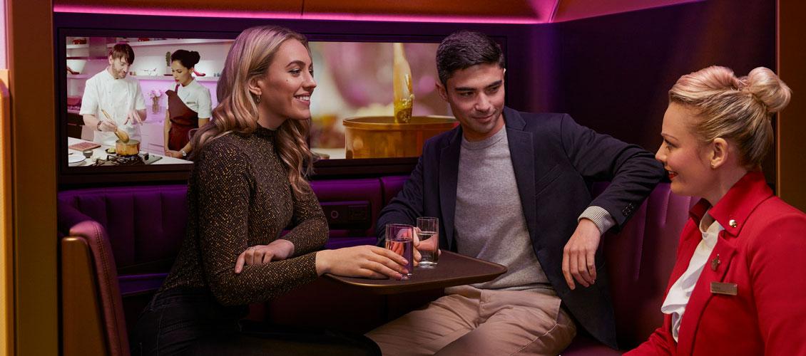 Virgin Atlantic présente « The Booth » sur l'A350